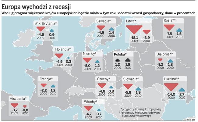 Europa wychodzi z recesji
