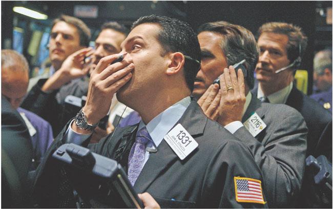 Czy krach na miarę chwil po upadku banku Lehman Brothers może się powtórzyć? Bloomberg