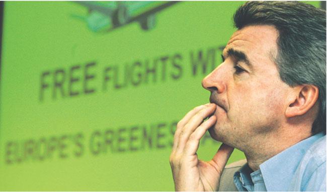 Michael O'Leary, szef tanich linii lotniczych Ryanair