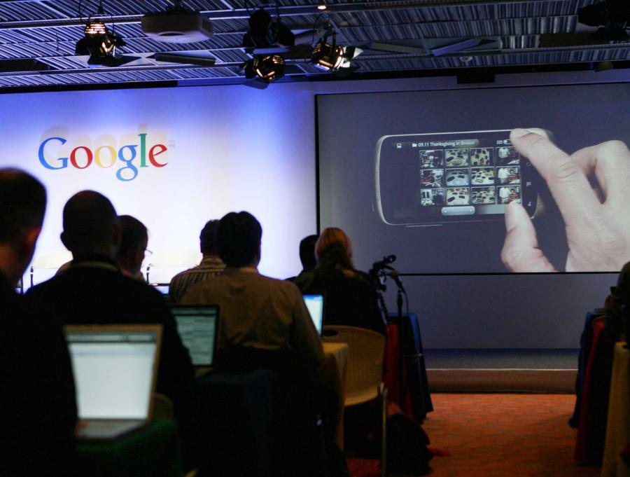 Google zaprezentował swój telefon Nexus One