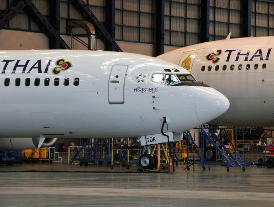 Samoloty linii lotniczych Thai Airways