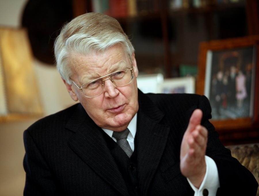 Prezydent Islandii Olafur Ragnar Grimsson