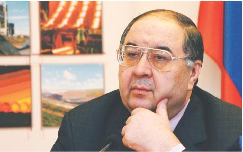 Wśród potencjalnych nabywców polskich zakładów jest miliarder Aliszer Usmanow Fot. PAP