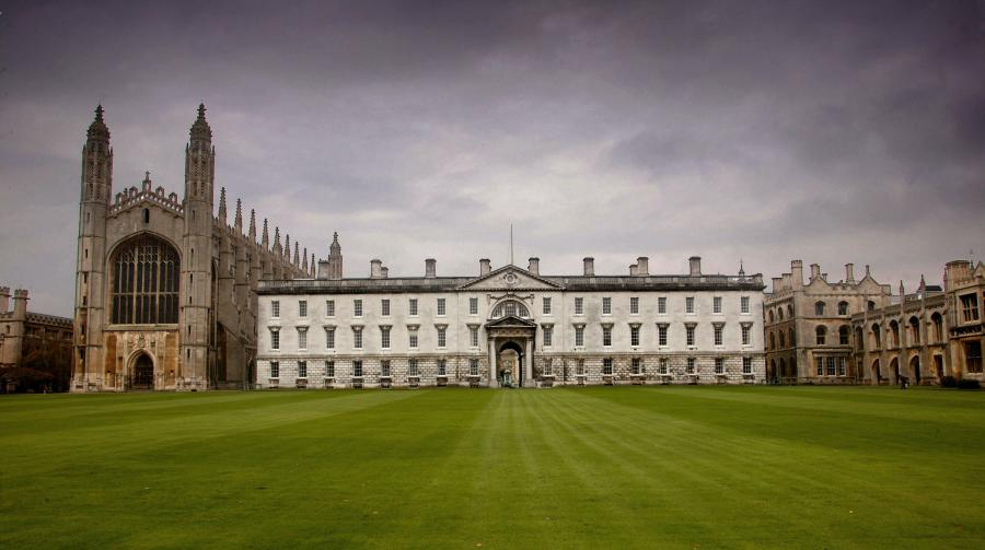 Kings College będący częścią Uniwersytetu Cambridge