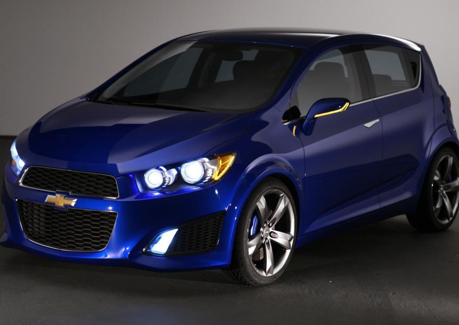 Chevrolet Aveo GM- w zeszłym roku GM pobił rekord sprzedaży w Chinach