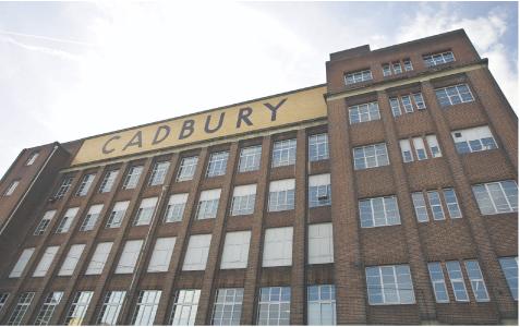 Cadbury Fot. Bloomberg