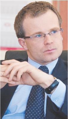 Ludwik Kotecki, wiceminister finansów Fot. Wojciech Górski
