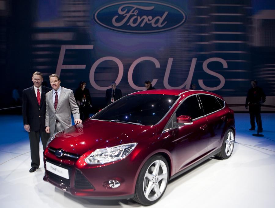 Nowy model Forda Focusa na Auto Show w Detroit