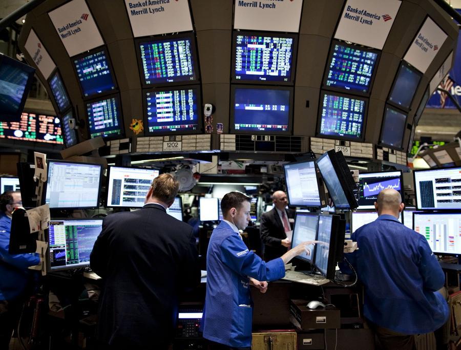 Maklerzy na amerykańskiej giełdzie