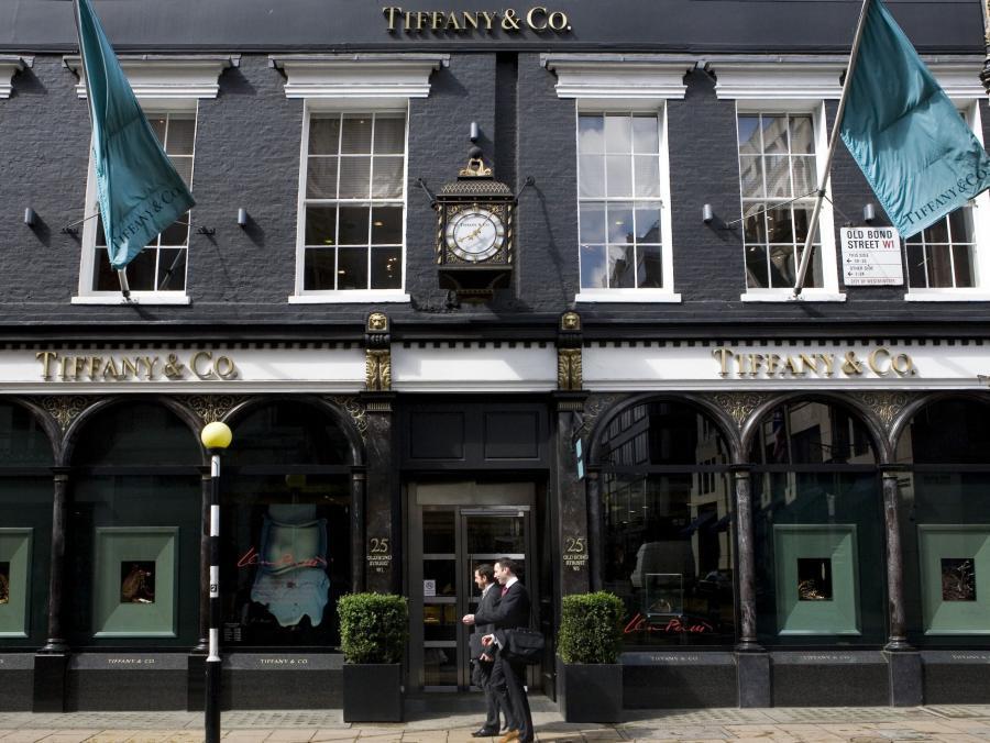 Sklep Tiffanyego w Wielkiej Brytanii