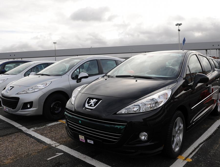 Samochody marki Peugeot