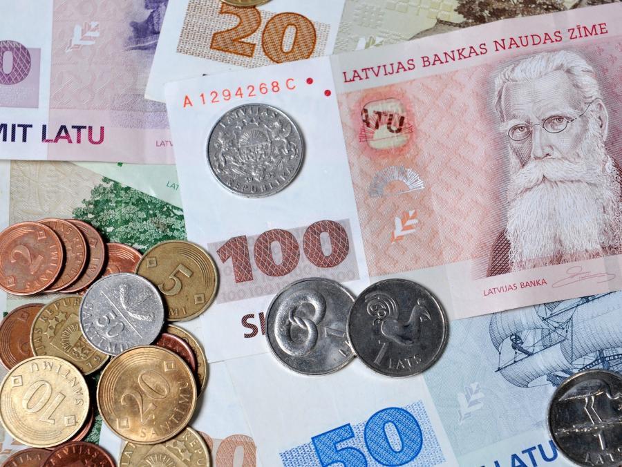 Łotewska waluta- łat