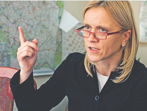 *Magdalena Jaworska zastępca generalnego dyrektora Dróg Krajowych i Autostrad