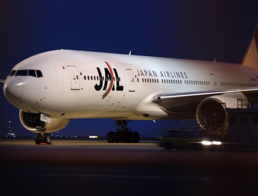 Samolot Japan Airlines