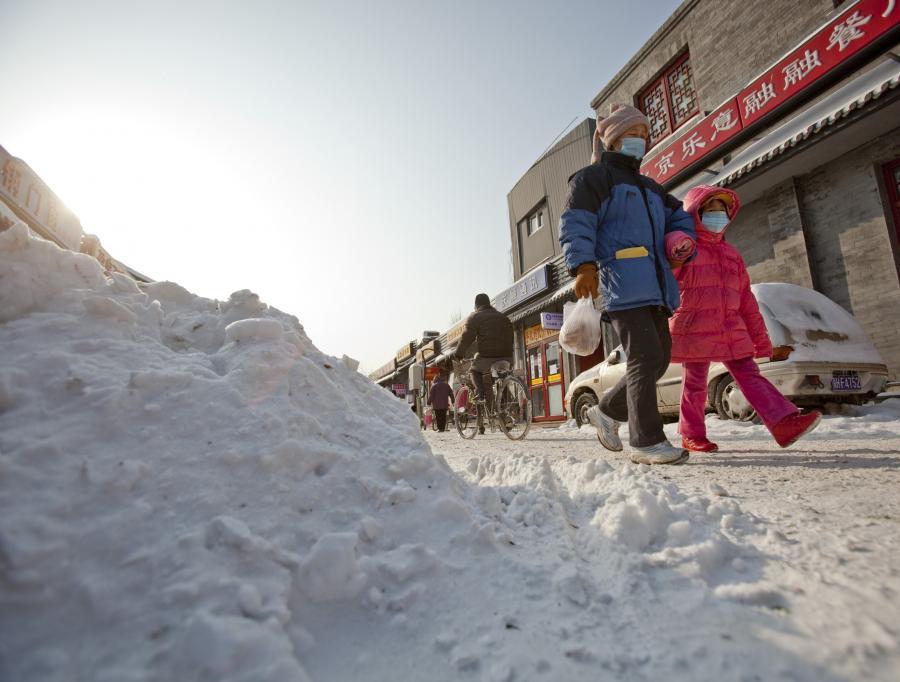 Chińczycy zmagają się z najgorszą zimą od 30 lat