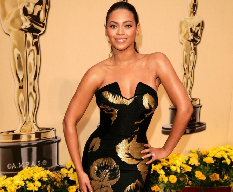Beyonce Knowles podczas ceremonii rozdania Oscarów w lutym 2009 roku