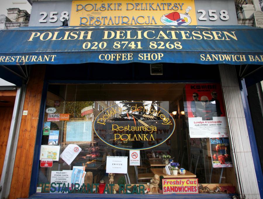 Polskie delikatesy w Londynie