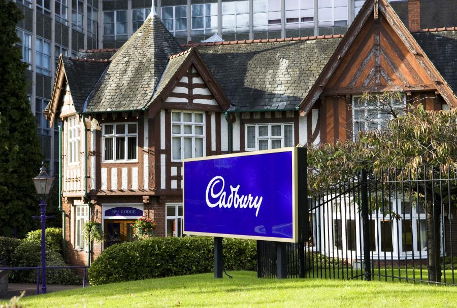 Fabryka słodyczy Cudbury w Birmingham w Wielkiej Brytanii