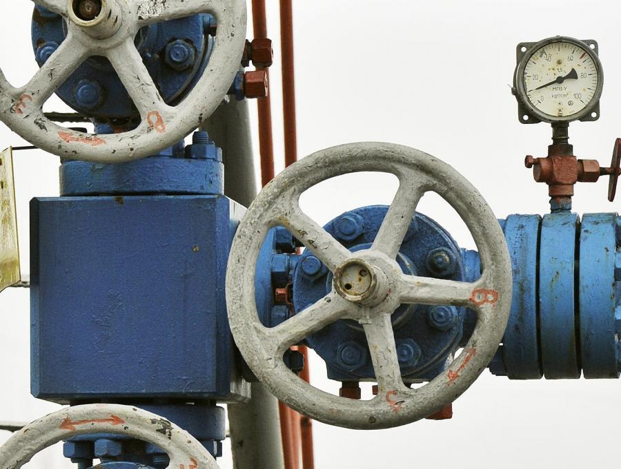 Fragment ukraińskiego gazociągu