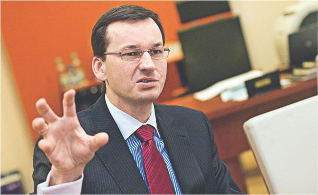 Mateusz Morawiecki, prezes BZ WBK Fot. Marek Matusiak