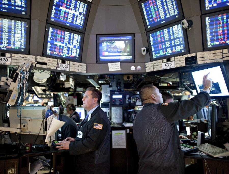 Maklerzy na nowojorskiej giełdzie