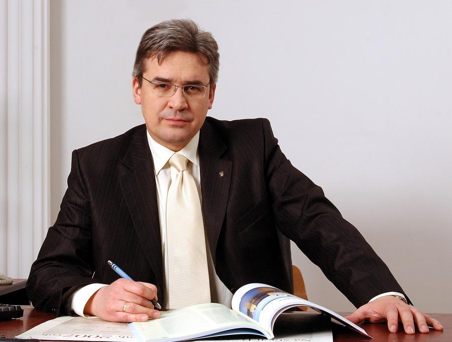 Artur Radwan, prezes spółki Koleje Mazowieckie