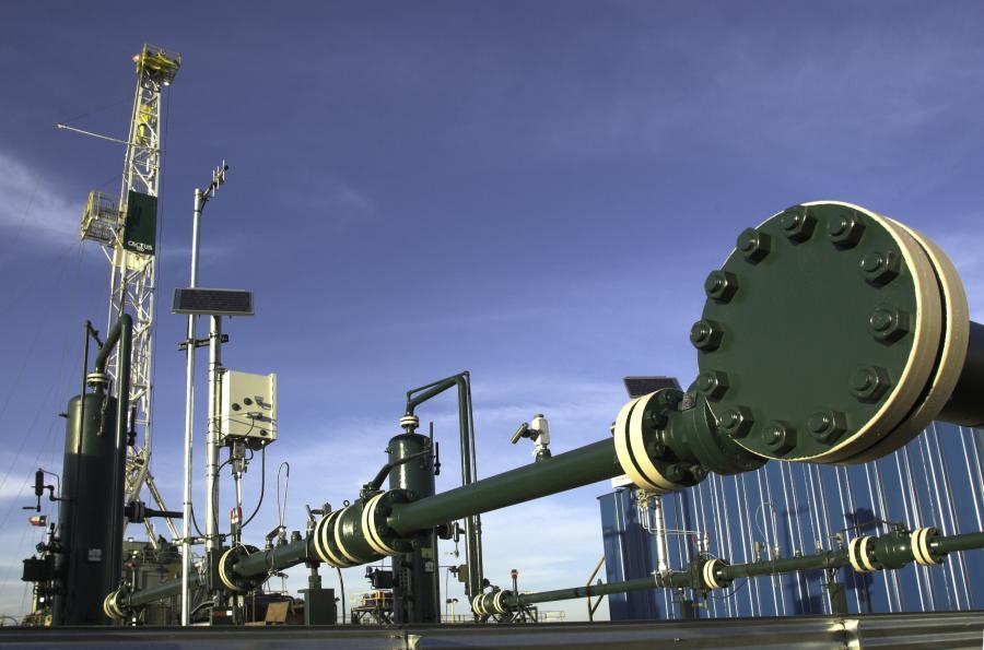 Odwierty w poszukiwaniu gazu, USA
