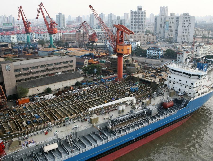 Chińska stocznia