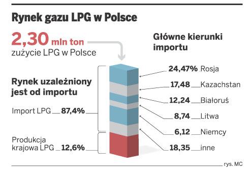 Rynek gazu LPG w Polsce