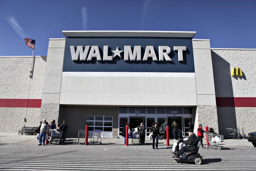 Jeden z supermarketów należących do sieci Wal-Mart