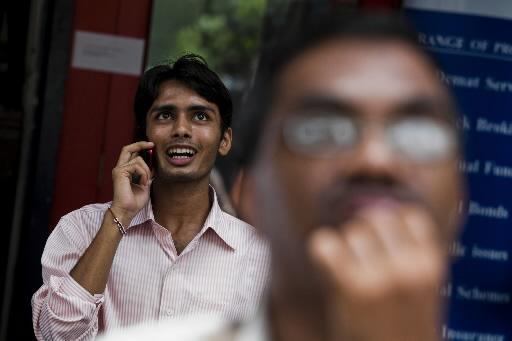 Wyniki notowań na giełdzie w Bombaju budzą emocje.