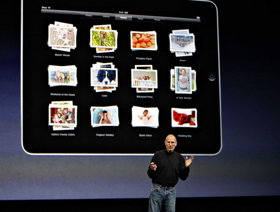Najnowsze dziecko firmy Apple, oczekiwany w napięciu komputer w formie tabliczki, nazywa się iPad