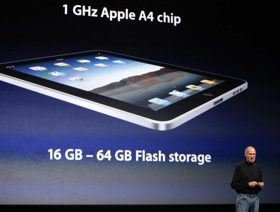 iPad firmy Apple - nowy następca laptopa