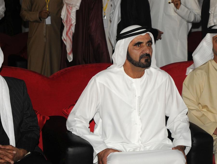 Szejk Mohammed bin Rashid al Maktoum, władca Dubaju