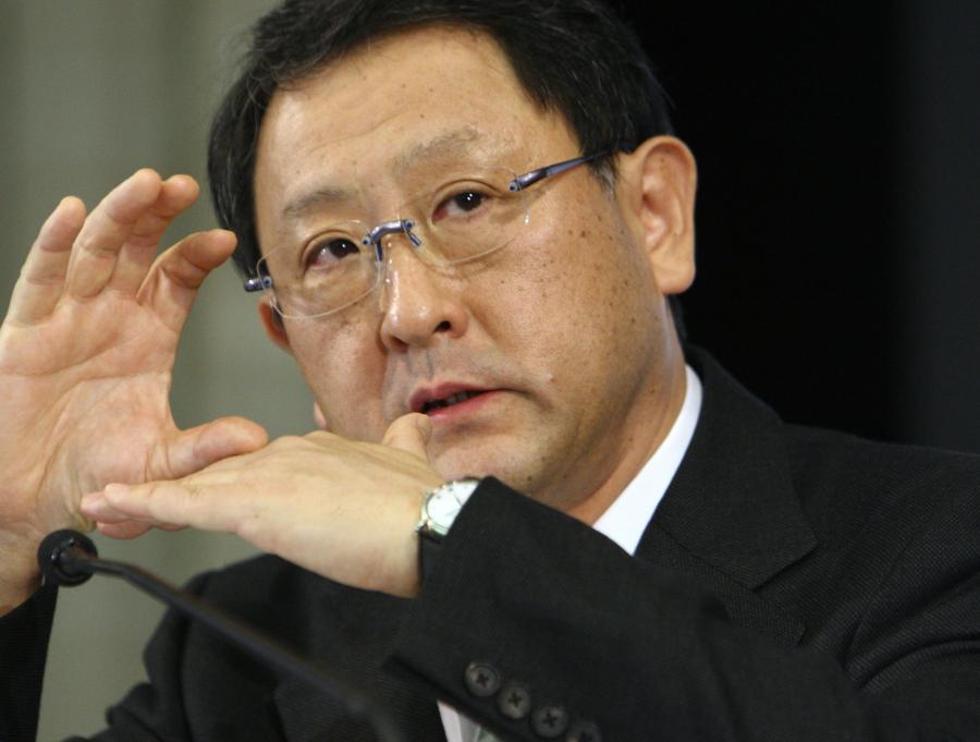 Akio Toyoda, szef Toyota Motor Corp.