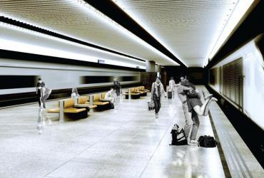 Dworzec Centralny w Warszawie po remoncie przed Euro 2012 - wizualizacja (4), fot. materiały prasowe PKP