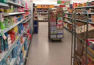W sklepach jest coraz bardziej pusto
