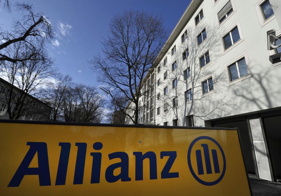 Szyld największego, europejskiego ubezpieczyciela firmy Allianz
