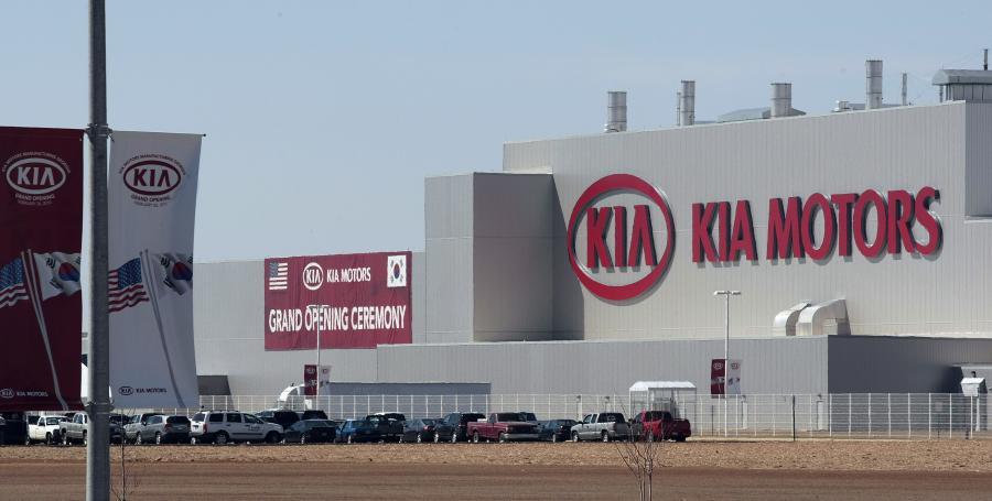 Pierwsza fabryka Kia Motors na amerykańskiej ziemii