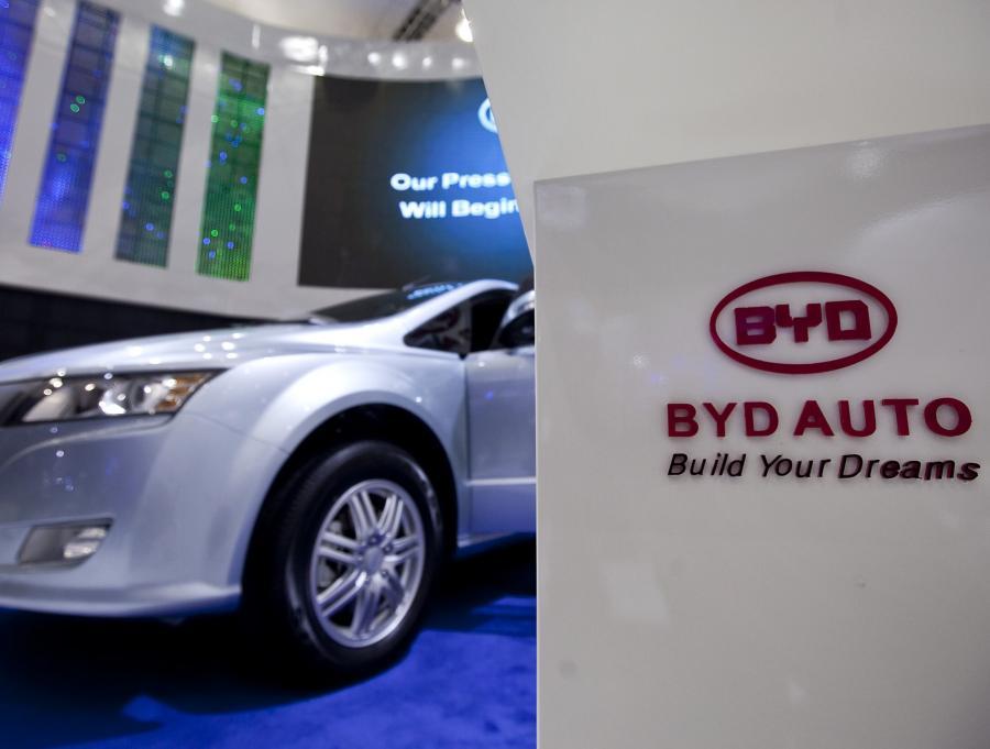 BYD to nowy partner Daimlera na chińskim rynku