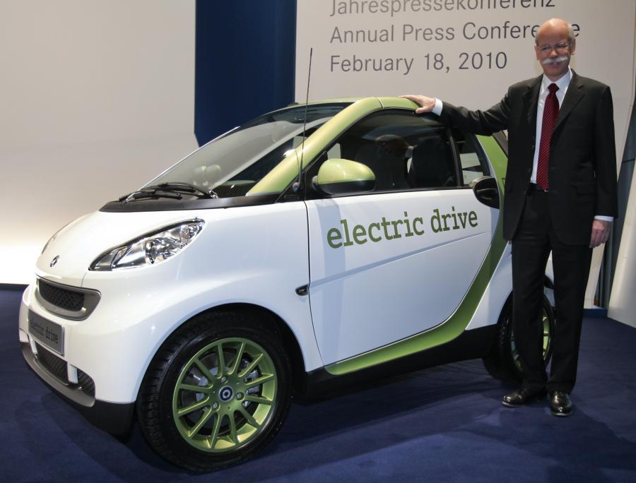 Daimler i chiński BYD  wyprodukują elektryczne samochody