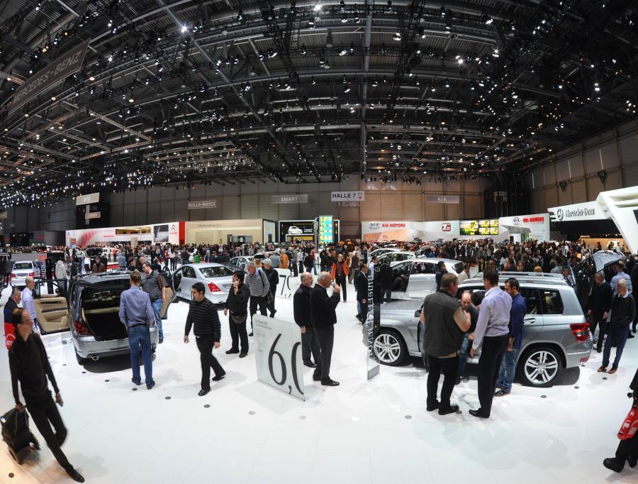 Salon Motoryzacyjny w Genewie