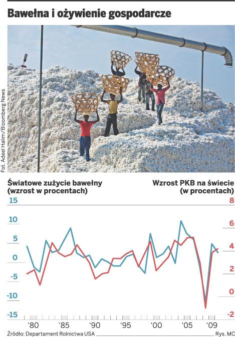 Bawełna i ożywienie gospodarcze