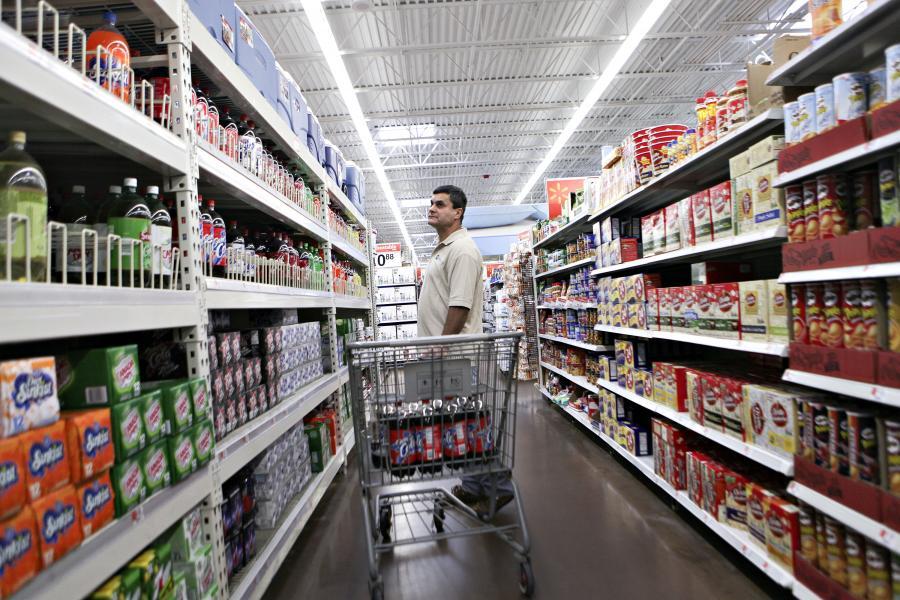 Wal-Mart to jeden z najpopularniejszych amerykańskich supermarketów
