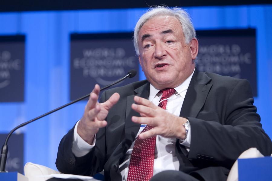 Dyrektor generalny Międzynarodowego Funduszu Walutowego (MFW) Dominique Strauss-Kahn