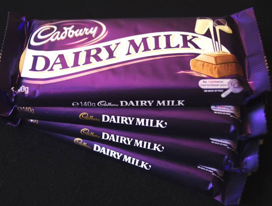 Czekolada Dairy Milk firmy Cadbury