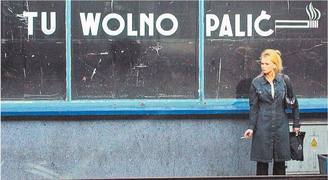 Za złamanie zakazu palenia w miejscu publicznym będzie groziło nawet 500 złotych mandatu Fot. Jacek Chmielewski/REPORTER