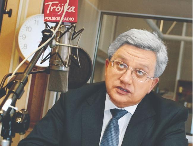 Jerzy Pruski, jest prezesem Bankowego Funduszu Gwarancyjnego Fot. Wojciech Górski
