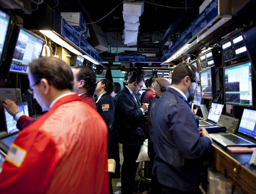 Traderzy na giełdzie w Nowym Jorku