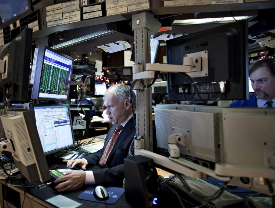 Traderzy na amerykańskiej giełdzie